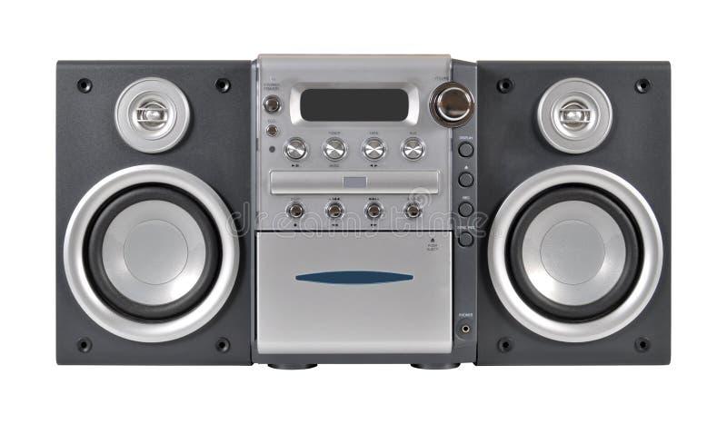 Sistema stereo compatto fotografie stock