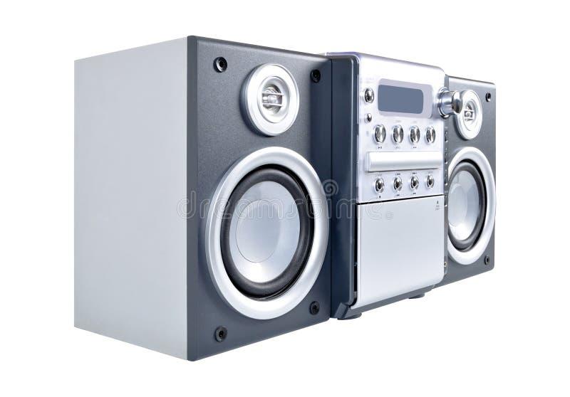 Sistema stereo compatto immagini stock libere da diritti