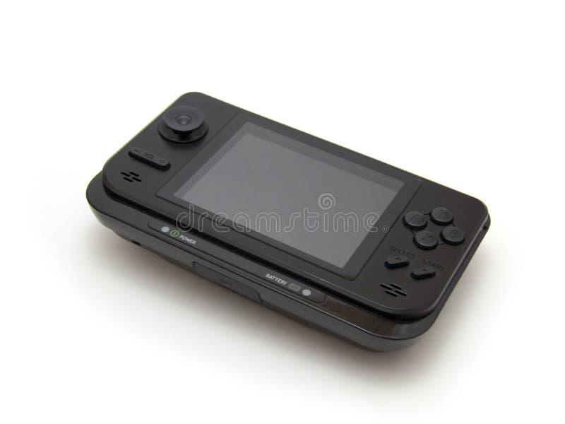 Sistema tenuto in mano portatile dell'unità di multimedia di gioco fotografia stock libera da diritti