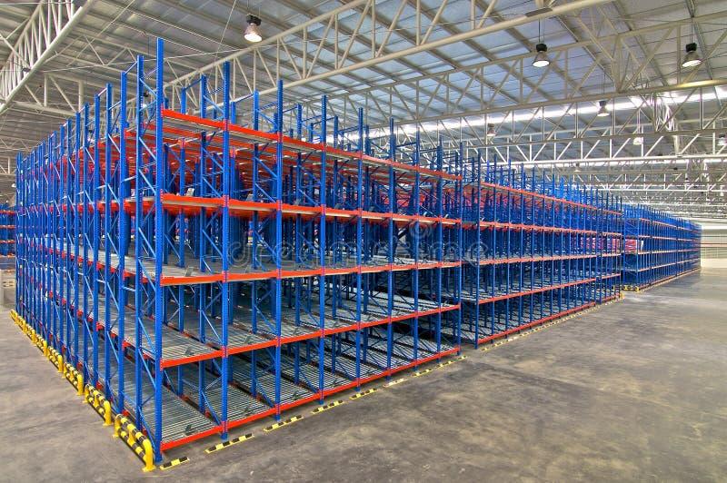 Sistemas de almacenamiento de Warehouse fotografía de archivo