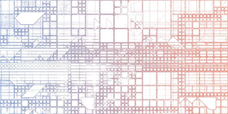 Sistemas elegantes ilustración del vector