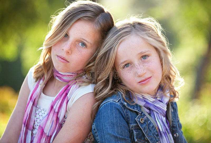 Download Sister stock image. Image of girls, lovely, siblings - 26328357