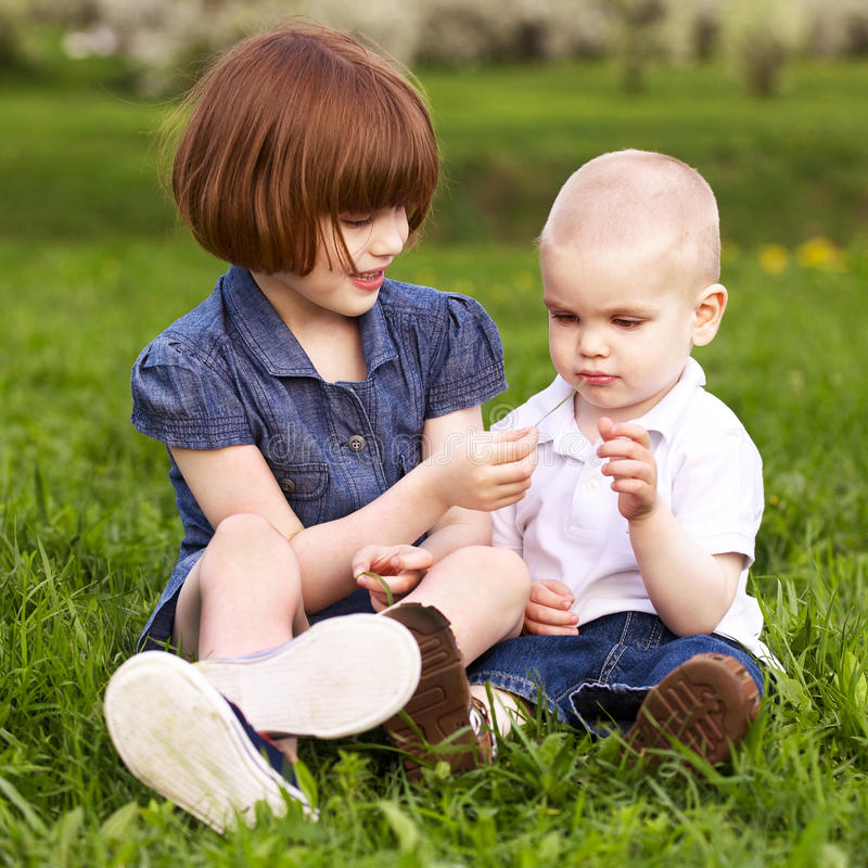 Free Sister And Brother Playing Stock Photo - 14332230