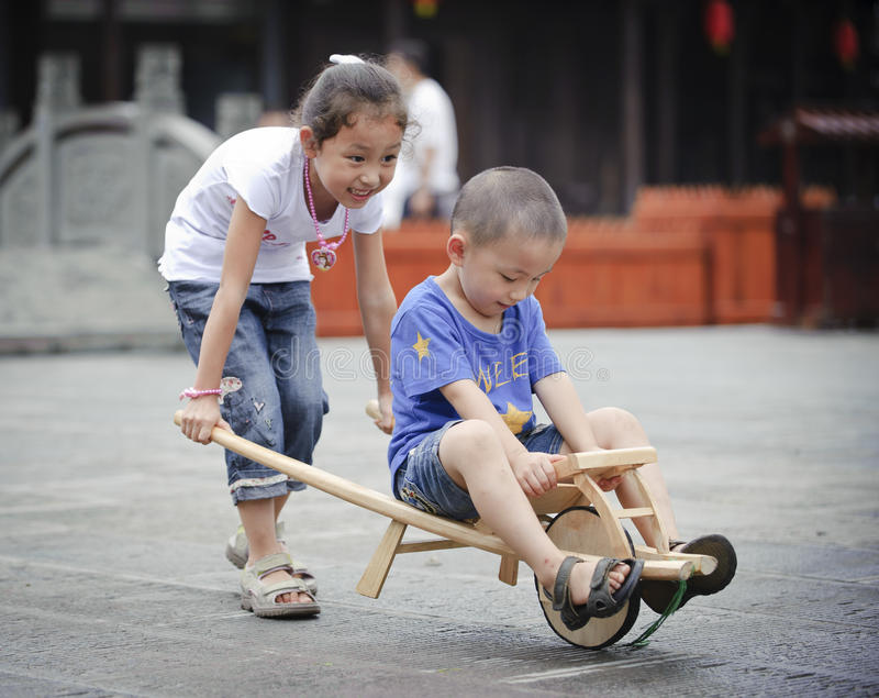 Download Sister and brother stock image. Image of cute, childhood - 16037017