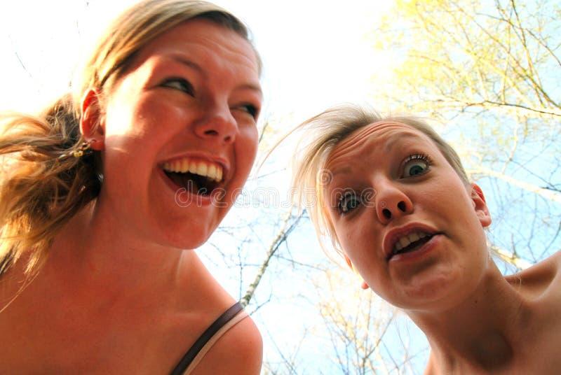 Sisterly Liebe stockbilder