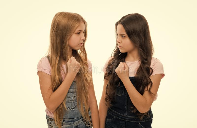 Sisterly relationship. Sisterhood happiness and issues. Girls confident sisters. Sisterhood support or competition. Siblings relations. Sisterhood goals stock photography