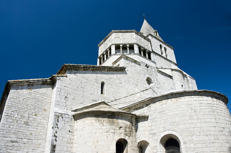 Download The Sisteron Cathedral stock image. Image of haute, building - 6112913