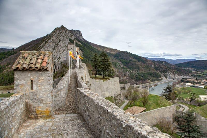 Sisteron - França foto de stock