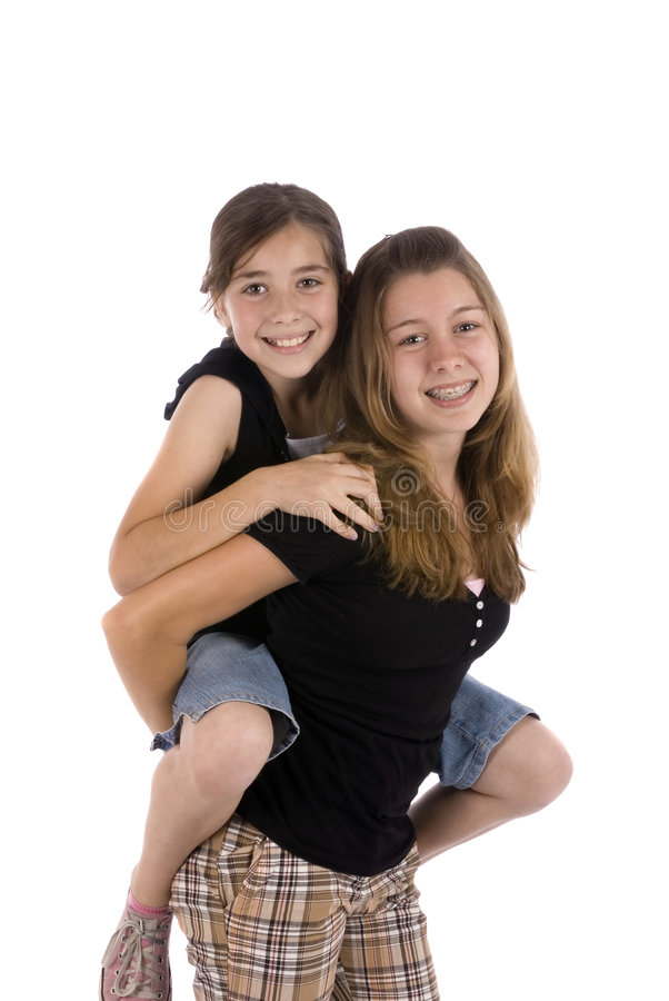 Download Sisters stock photo. Image of children, pretty, girls - 2496118
