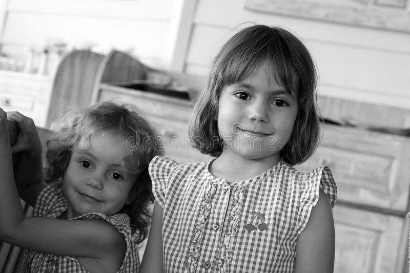 Sisters. stock image