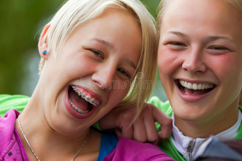 Download Sisters stock photo. Image of cheerful, people, hair - 27068234