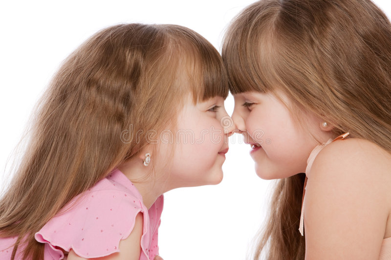 Download Sisters stock photo. Image of adorable, little, background - 7527588