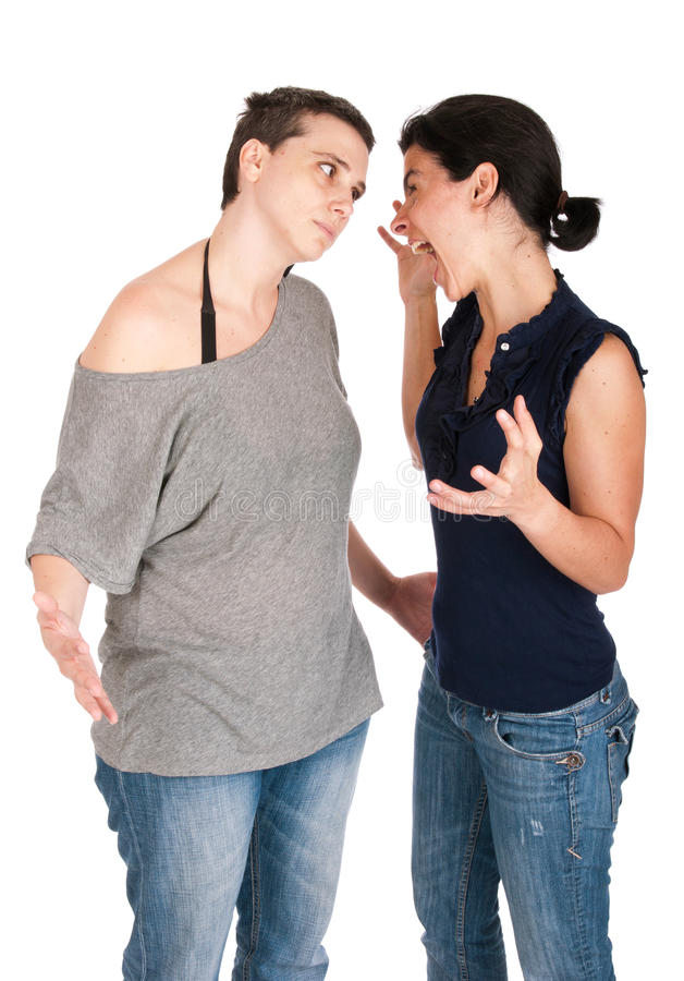 Download Sisters arguing stock photo. Image of emotion, casual - 20491290