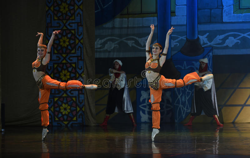 """Sisters flower- ballet """"One Thousand and One Nights"""" stock photos"""