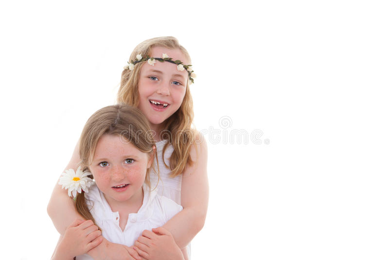 Sisters friends stock photo