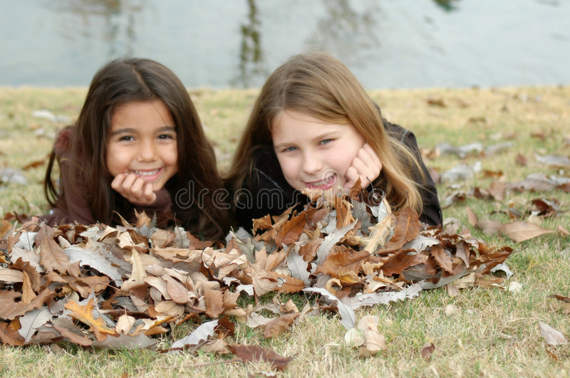 Sisters are Friends royalty free stock photography