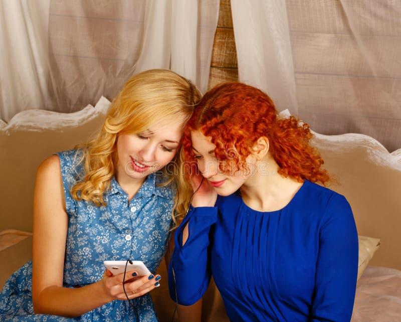 Blonde Shy Seduced Lesbian