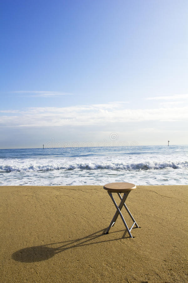 Sit and breathe royalty free stock photography