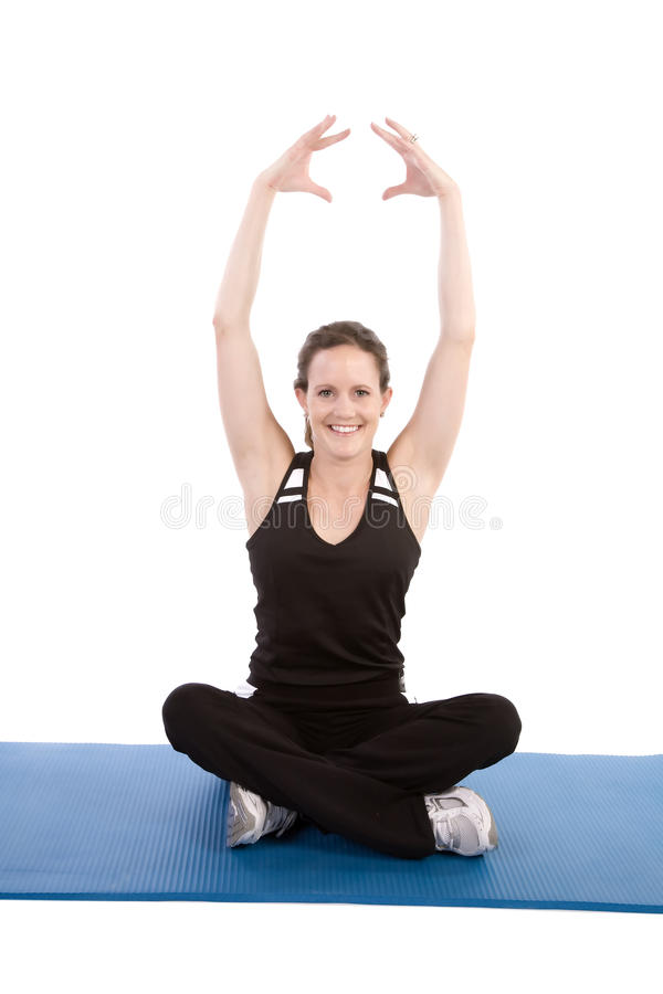 Download Sit happy stretch stock photo. Image of stretch, strength - 12957450