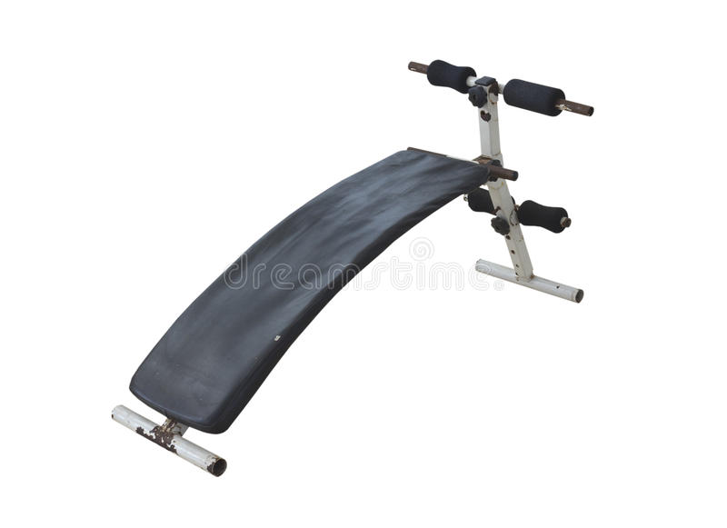Download Sit-up Bench Stock Photo - Image: 25526930