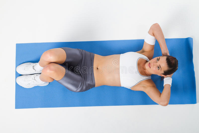 Download Sit-ups stock image. Image of figure, shape, smiling - 15665031
