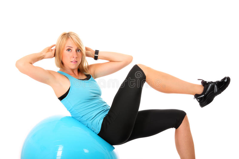 Download Sit-ups stock photo. Image of athletic, fitness, beautiful - 22121646