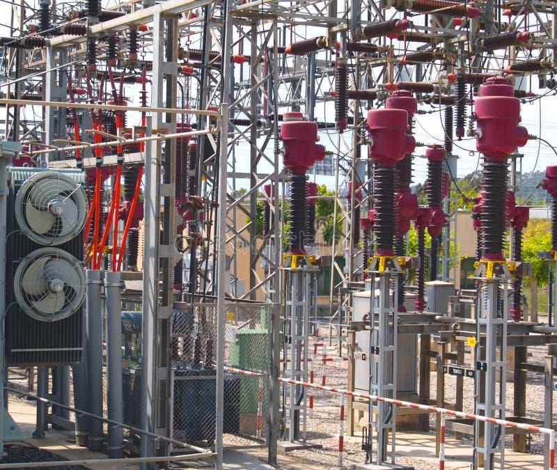 Site électrique 01 image libre de droits