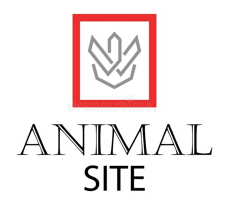 Site animal illustration de vecteur