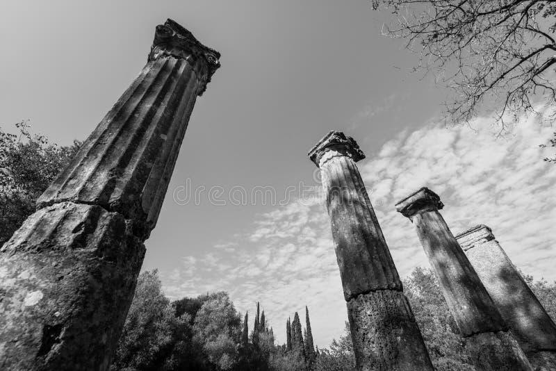 Site archéologique d'Olympia, Grèce photo libre de droits