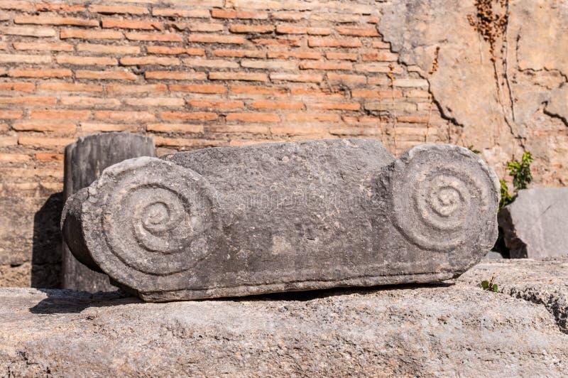 Site archéologique d'Olympia, Grèce image libre de droits