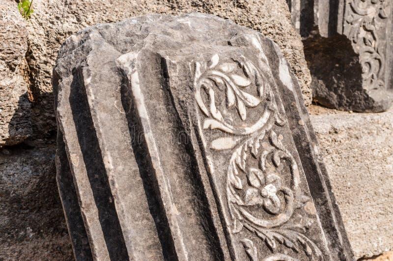 Site archéologique d'Olympia, Grèce photos stock