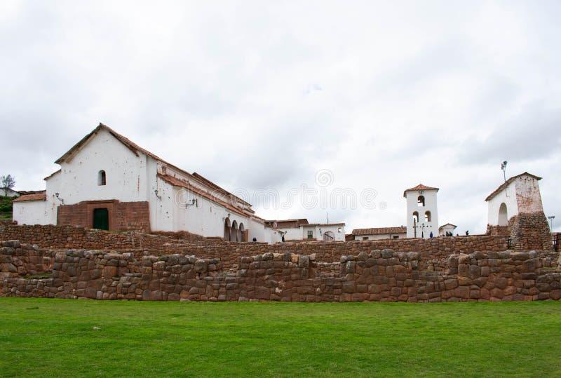 Site archéologique dans Chinchero, vallée sacrée, Cusco, Pérou, 02-07-2019 images libres de droits