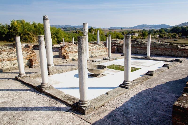 Site archéologique Felix Romuliana images libres de droits