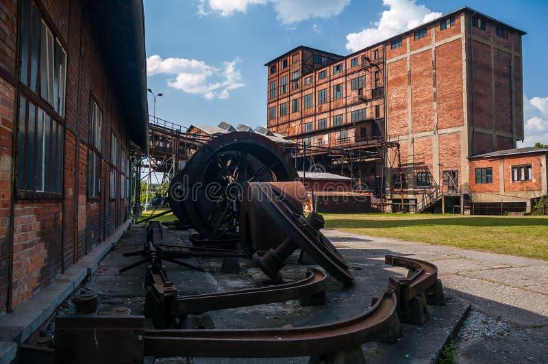 Site de mine de charbon photo stock