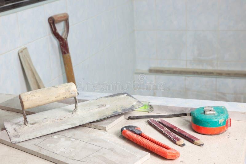 Site de rénovation photos stock
