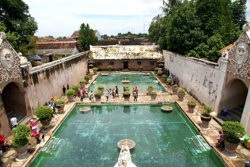 Site de Tamansari Watercastle, Yogyakarta, Indonésie photographie stock libre de droits