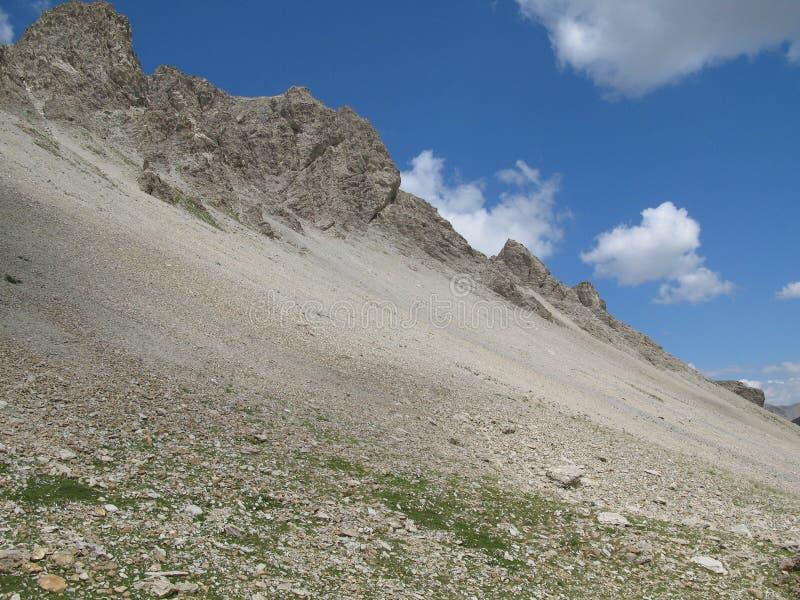 Site des colla der kleinen Ferse, Frankreich stockbilder