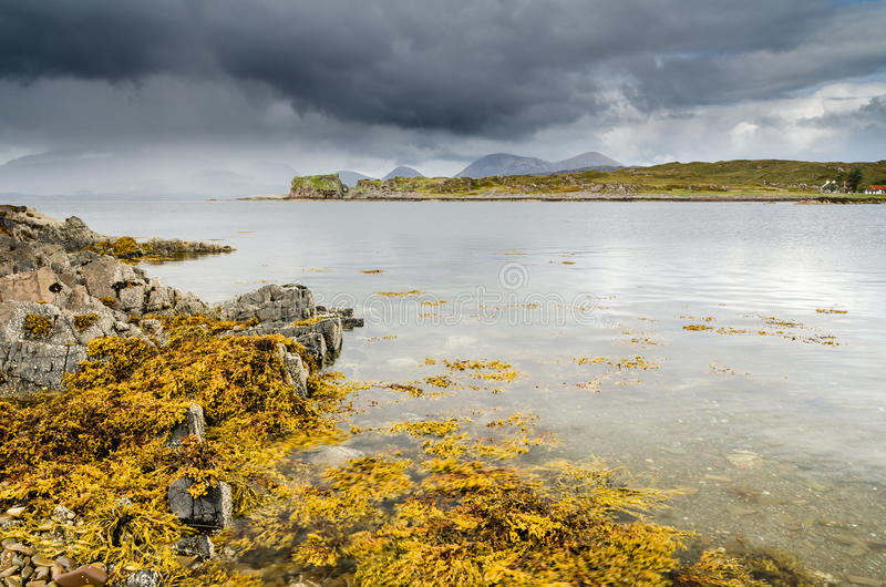 Download Site of Dunscaith Castle stock image. Image of ancient - 34386557
