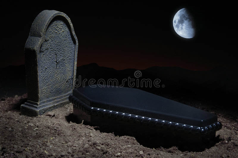 Site grave images stock
