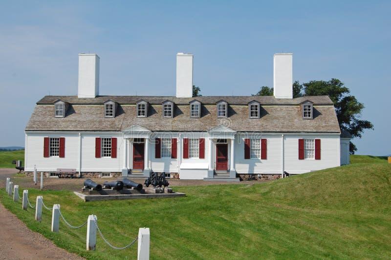 Site historique national d'Anne de fort image stock