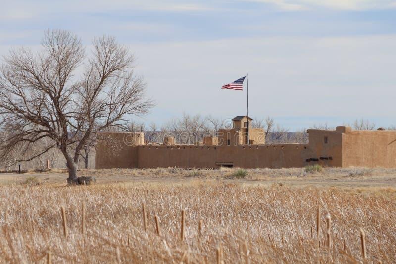 Site historique national fort coudé du ` s de vieux images stock