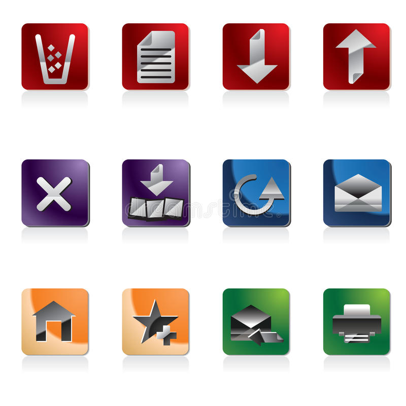 Site-Ikone lizenzfreie abbildung
