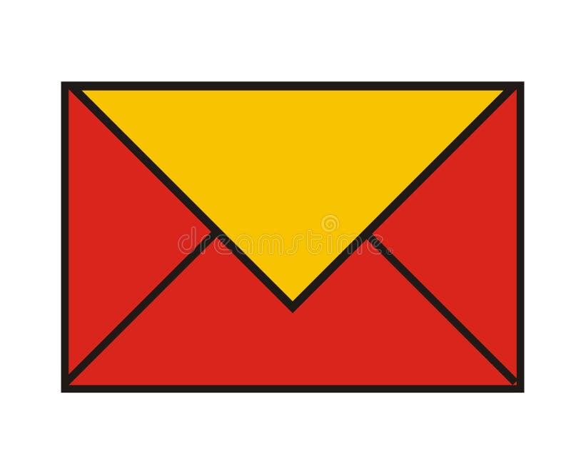 Site-Ikone - eMail stock abbildung