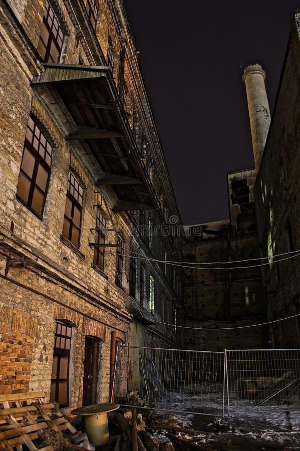 site industriel abandonné photo libre de droits