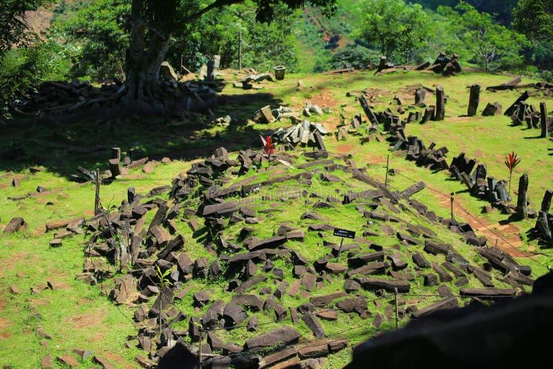 Site mégalithique images stock