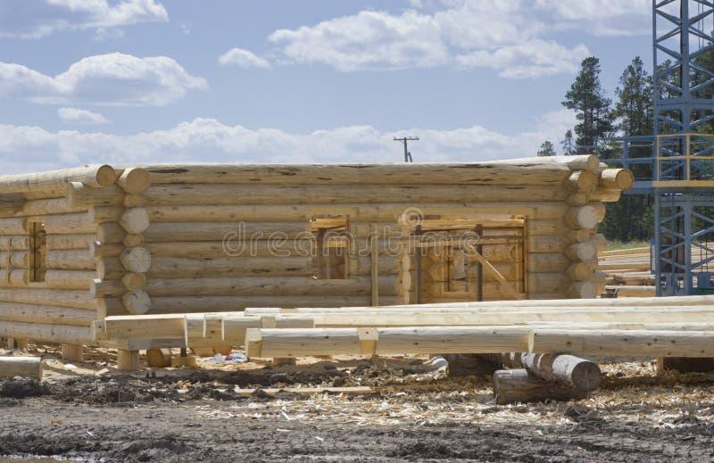 site neuf à la maison de construction photographie stock libre de droits
