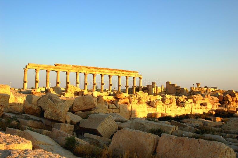 Site of Palmyra Syria