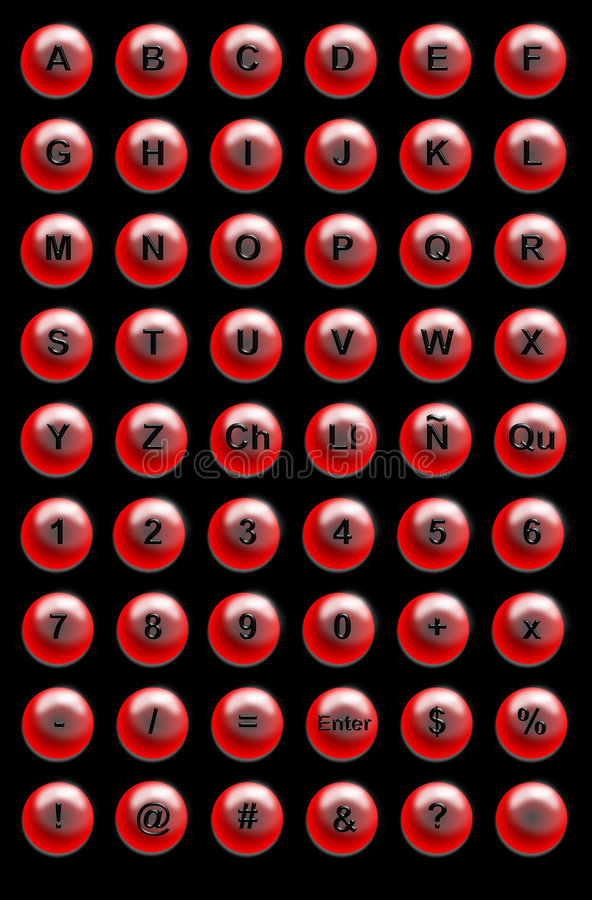 Site-Tasten vektor abbildung