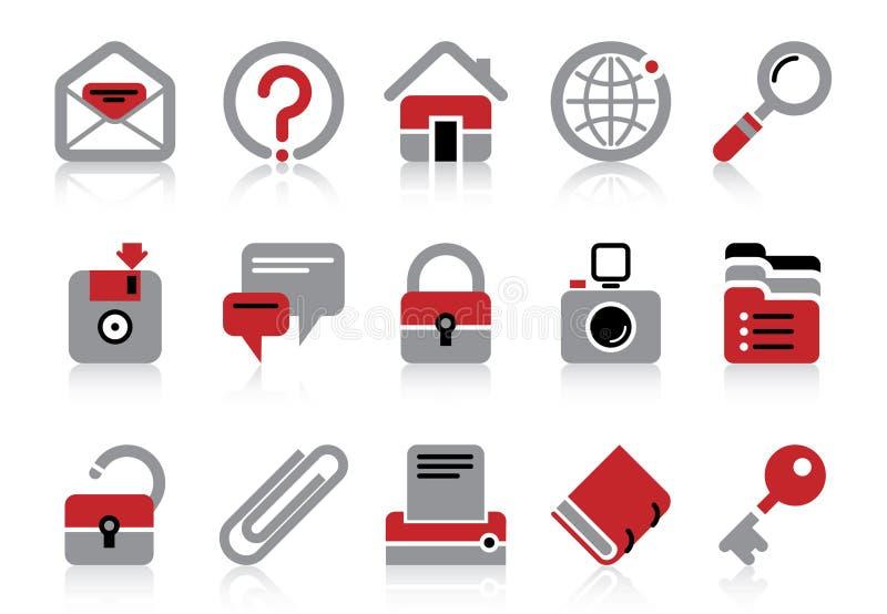 Site- und Internet-Ikonen