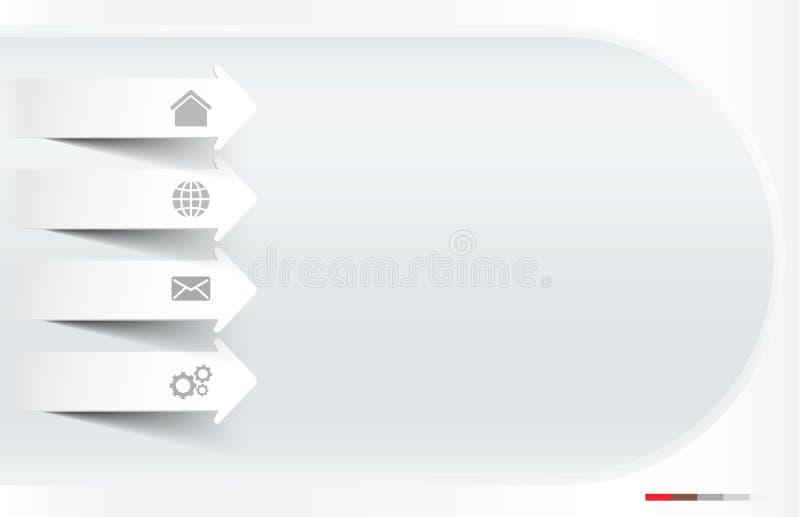 Site Web blanc photos stock